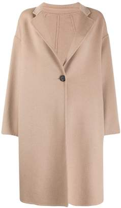 Peserico oversized button up coat