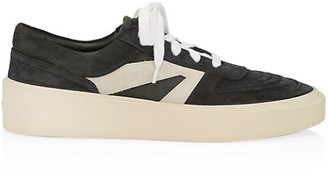 Fear Of God Skate Low-Rise Leather Sneakers