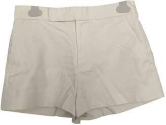 Polo Ralph Lauren Ecru Cotton Shorts for Women