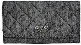 GUESS Women's Hartzel Quilted Denim Wallet