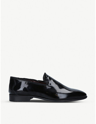 Selfridges Steno patent leather loafers