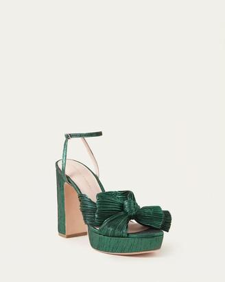 Loeffler Randall Natalia Emerald Platform Bow Heel