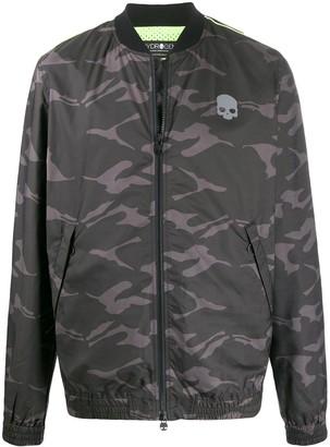 Hydrogen Camouflage-Print Track Jacket