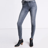 """Madewell Taller 9"""" High-Rise Skinny Jeans in Shaw Wash"""
