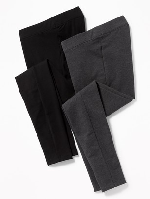 Old Navy Maternity Front Low Panel Leggings 2-Pack