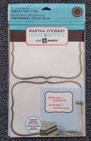 Martha Stewart 2 Home Office Dry Erase Decals5 7/8 X 7 7/8, In Package