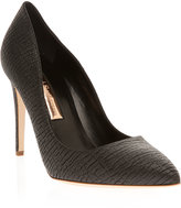 RUPERT SANDERSON Laira Pointed Black pumps