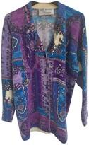 Blumarine Purple Wool Knitwear for Women