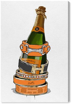 Oliver Gal Arm Candy Champagne Canvas Art