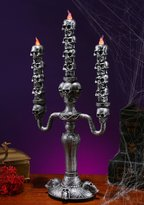 Fun World Costumes Stack O' Skulls Candelabra