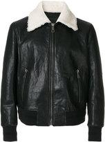 Neil Barrett shearling lined jacket