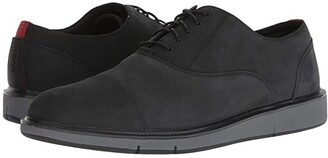 Swims Motion Cap Toe (Black/Red Lacquer) Men's Shoes