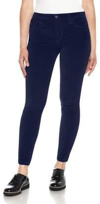 Joe's Jeans Icon Velvet Ankle Skinny Pants