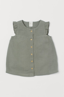 H&M Cotton Dress - Green