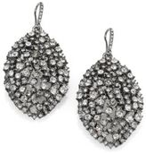 ABS by Allen Schwartz Faceted Almond Drop Earrings