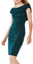 BCBGMAXAZRIA Women's 'Kylia' Ruched Jersey Sheath Dress