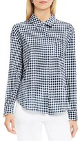 Women's Two By Vince Camuto Gingham Textured Utility Shirt