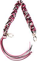 RED Valentino woven bag strap