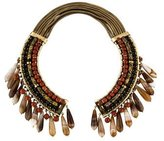 Etro Agate & Red Jasper Collar Necklace