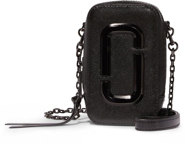 Marc Jacobs The Hot Shot Saffiano Leather Shoulder Bag