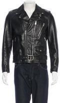 Saint Laurent Leather Moto Jacket w/ Tags