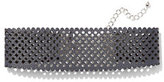 New York & Co. Perforated Choker Necklace