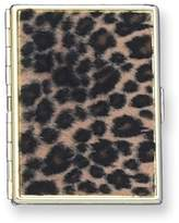 Gifts and more Gold-tone Leopard Cigarette and Cards Case (Holds 9-100mm)