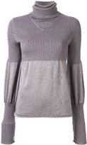 Chanel Pre Owned 2005 puffed details knitted top