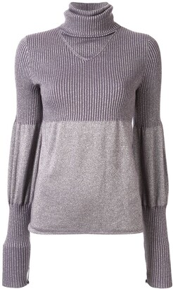 Chanel Pre-Owned 2005 puffed details knitted top