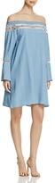 Bagatelle Crochet Trim Off-the-Shoulder Dress - 100% Exclusive