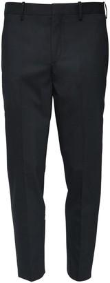 Neil Barrett Fine Gabardine Pants W/ Satin Stripes
