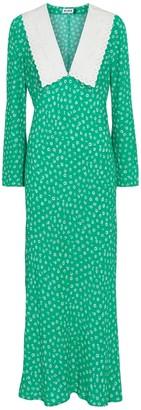 Rixo Arielle floral maxi dress