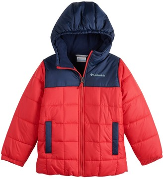 Columbia Boys 4-7 Puffer Hooded Heavyweight Jacket