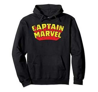 Marvel Captain Retro Comic Title Hoodie