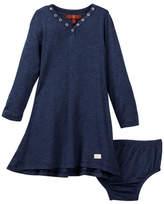 7 For All Mankind Grommet Dress (Baby Girls 0-9M)