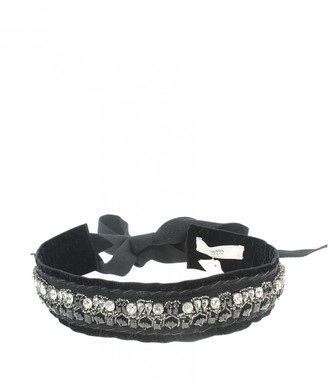 Prada Black Velvet Scarves