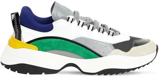DSQUARED2 Leather, Mesh & Neoprene Sneakers