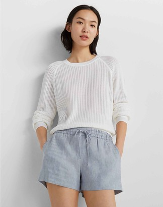 Club Monaco Open Stitch Sweatshirt