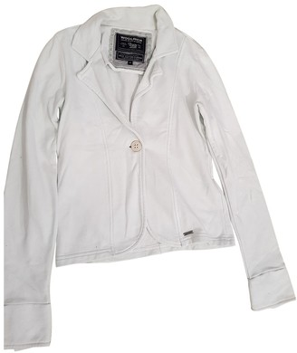 Woolrich White Cotton Top for Women
