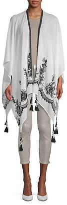 MARCUS ADLER Embroidered Kimono
