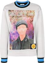Prada Poster Girl crew neck sweater