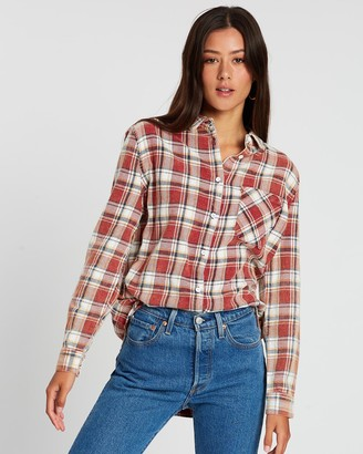 All About Eve Longline Check Shirt