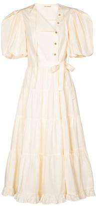 Ulla Johnson Agathe cotton midi dress