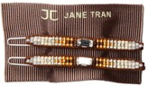 Jane Tran Aztec Barrette ) Barrette