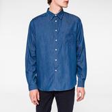Paul Smith Men's Indigo Cotton-Denim Shirt