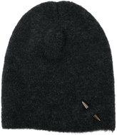 Isabel Benenato embellished beanie hat