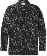 Saint Laurent - Polka-dot Voile Shirt