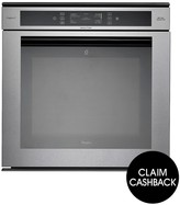 Whirlpool AKZM8920GK 60cm Built-In Electric Single Oven With Optional Installation - Stainless Steel