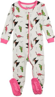 Leveret Dinosaur Footed Pajama Sleeper