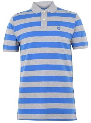 Timberland Wide Stripe Polo Shirt